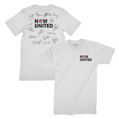 now-united - Signature Tee (White)