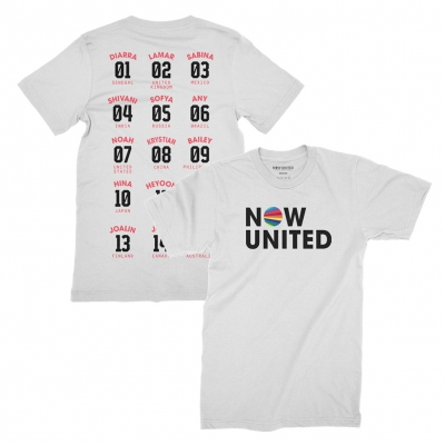 now-united - Numbers Tee (White)