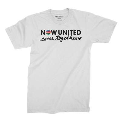 now-united - Come Together Tee (White)