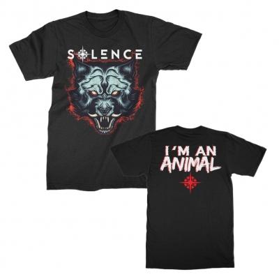 Animal In Me Tee (Black)