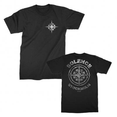 solence - Compass Badge Tee (Black)