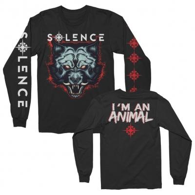 solence - Animal In Me Long Sleeve Tee (Black)
