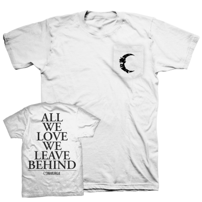 converge - All We Love Pocket Tee (White)