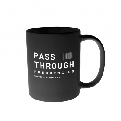 jim-adkins - Pass Through Frequencies Mug (Black)