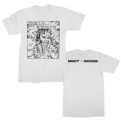 josh-barnett - Refusing To Die T-Shirt (White)