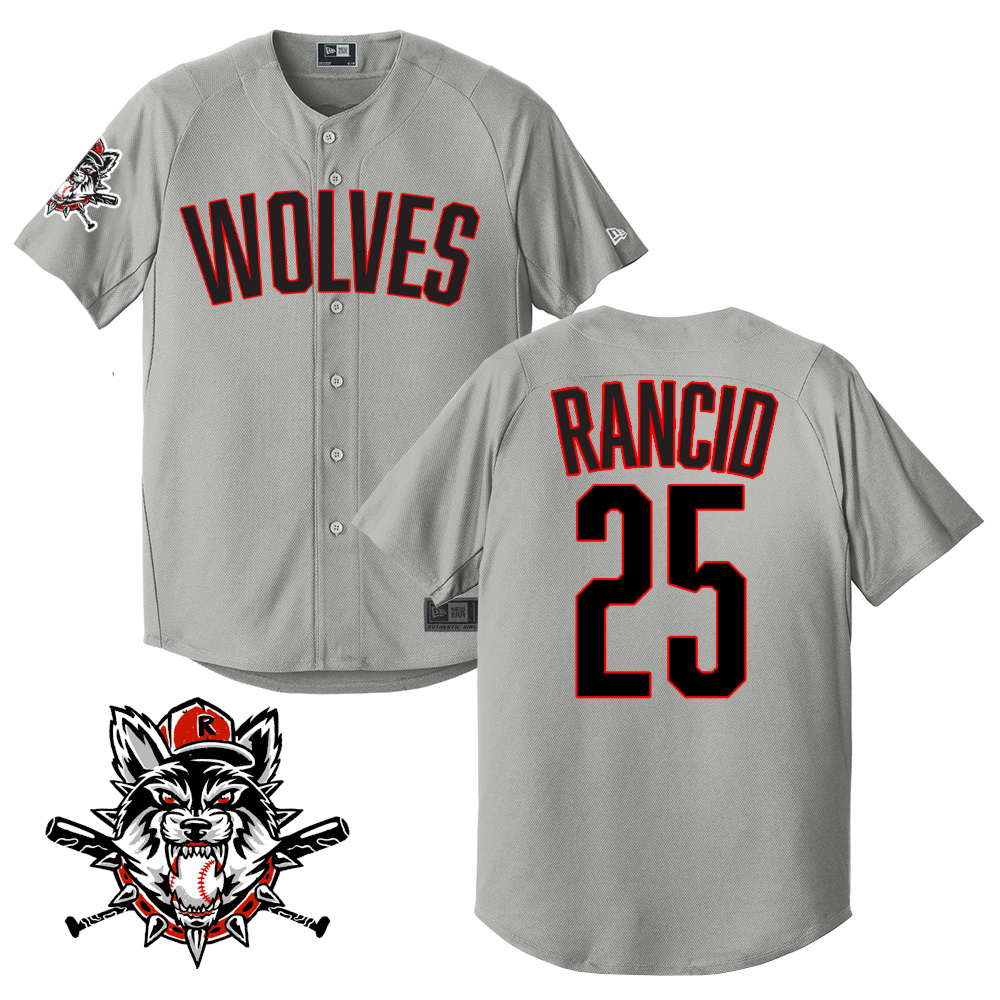 IMAGE   Wolves Limited-Edition Baseball Jersey (Grey)