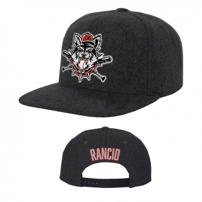 rancid - Limited-Edition Wolves Hat (Black)