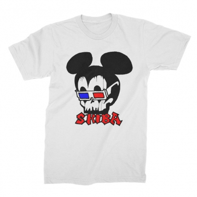 matt-skiba - Mickey Tee (White)