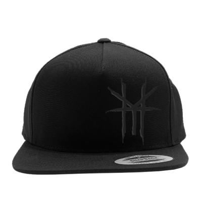 HY Logo Blackout Snapback (Black)