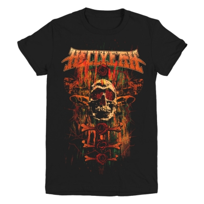 Moth Skull Women's Tee (Black)