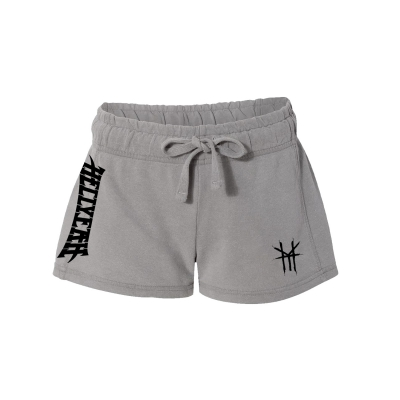 hellyeah - Logo Women's Shorts (Grey)