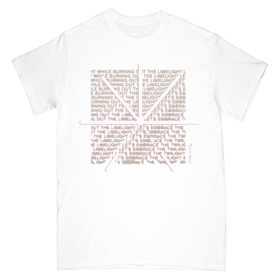 touche-amore - Limelight Tee (White)