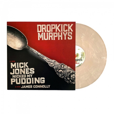 "dropkick-murphys - Mick Jones Nicked My Pudding 12"" (White/Smoke Whip"