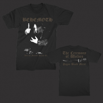 Ceremony of Wolves T-Shirt (Black)