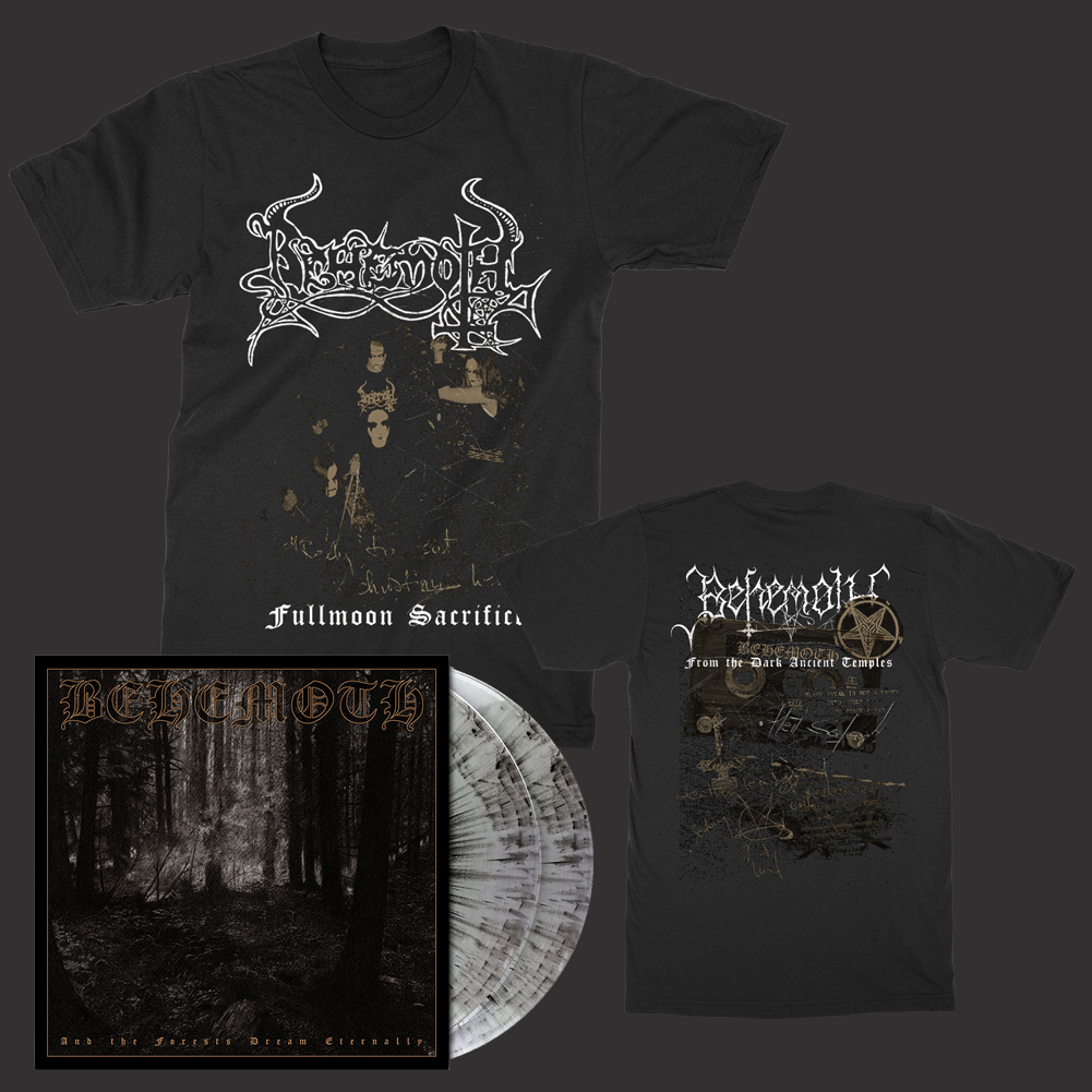 IMAGE | Forests 2xLP (Gray Marble) + Fullmoon T-Shirt Bundle