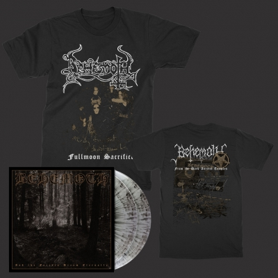 Forests 2xLP (Gray Marble) + Fullmoon T-Shirt Bundle