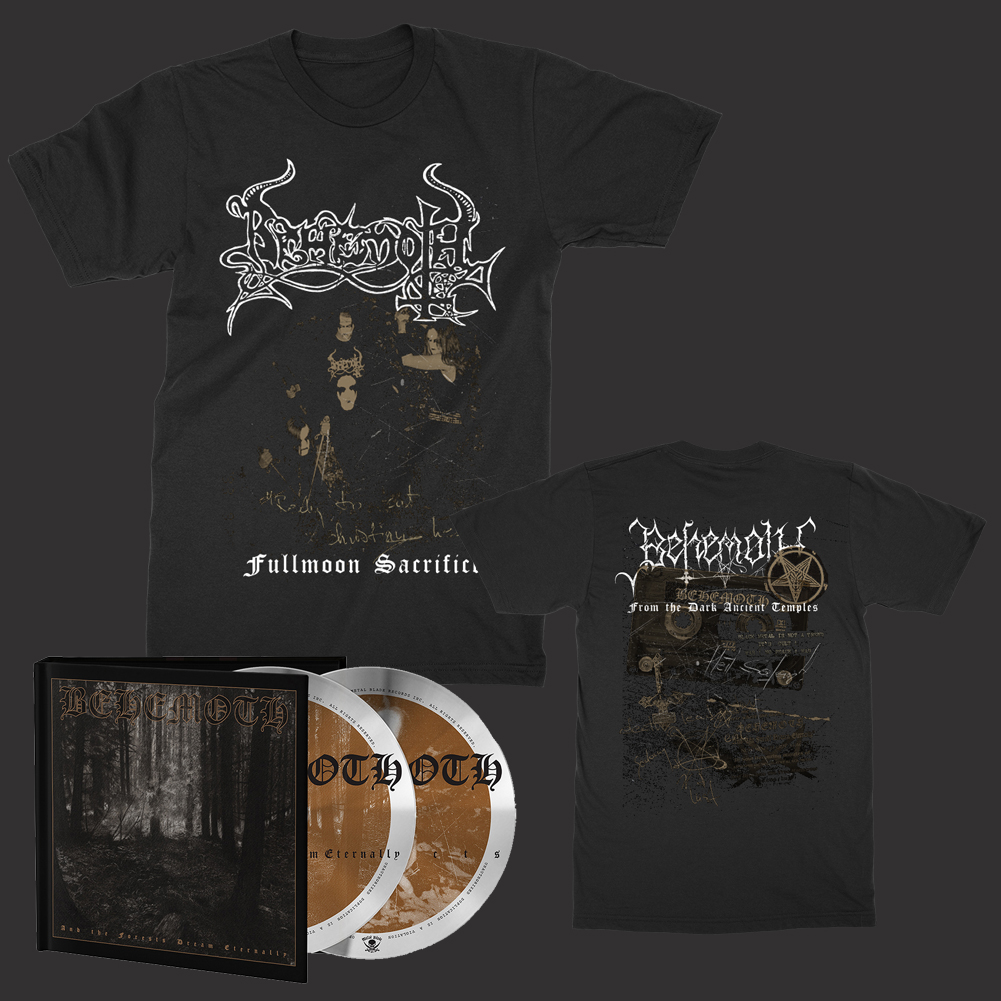 IMAGE | Forests 2xCD + Fullmoon T-Shirt Bundle