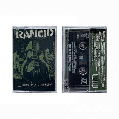 rancid - Honor Is All We Know Cassette
