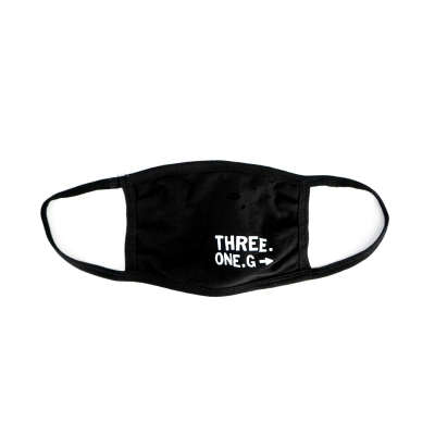 three-one-g - Logo Mask (Black)