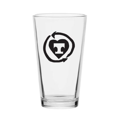 Troubadour Pint Glass