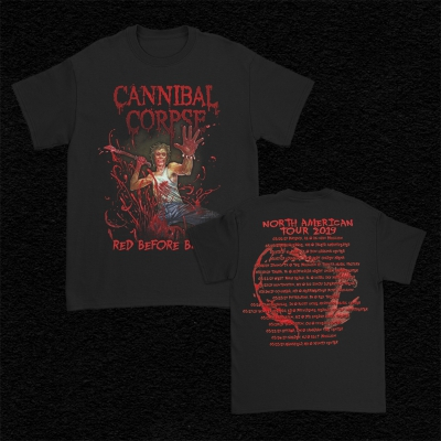 2019 Red Before Black Tour T-Shirt (Black)