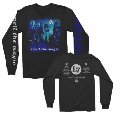 l7 - Smell the Magic Vintage Album Long Sleeve (Black)