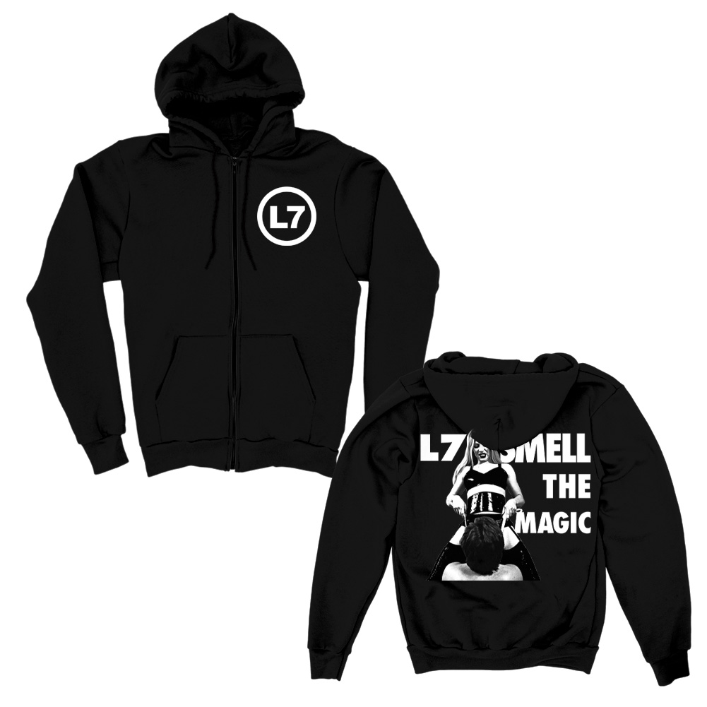IMAGE   Smell the Magic Zip Up Hoodie (Black)