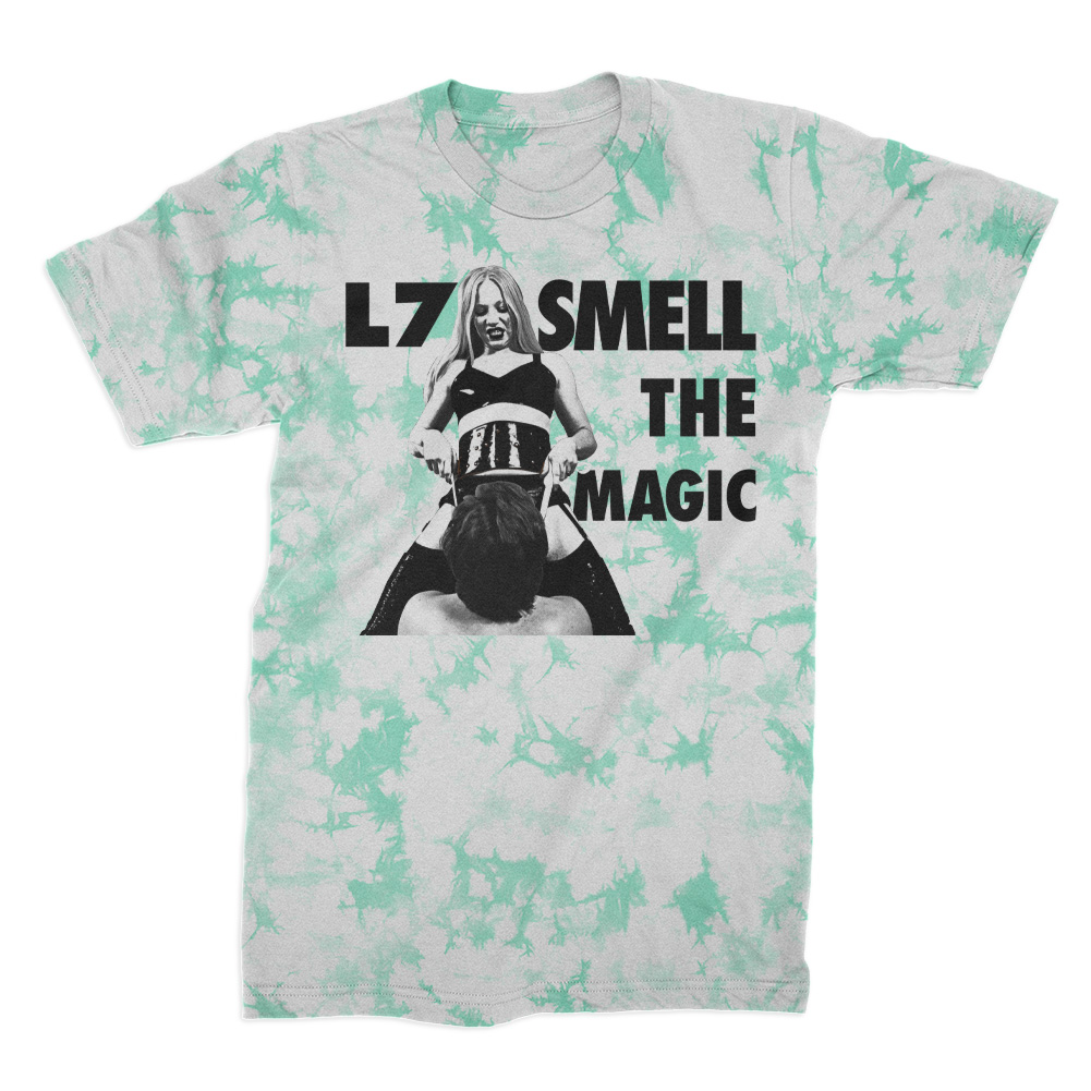 IMAGE | Smell The Magic Limited Crystal Dye Tee (White/Min