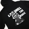 IMAGE   Smell the Magic Zip Up Hoodie (Black) - detail 7