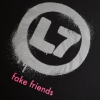 IMAGE | Fake Friends Cat Tee (Black) - detail 7