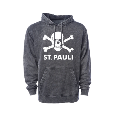 Skull Pullover Hoodie (Mineral Wash)