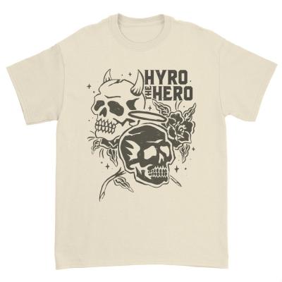 hyro-the-hero - Good vs Evil Skull Tee (Natural)