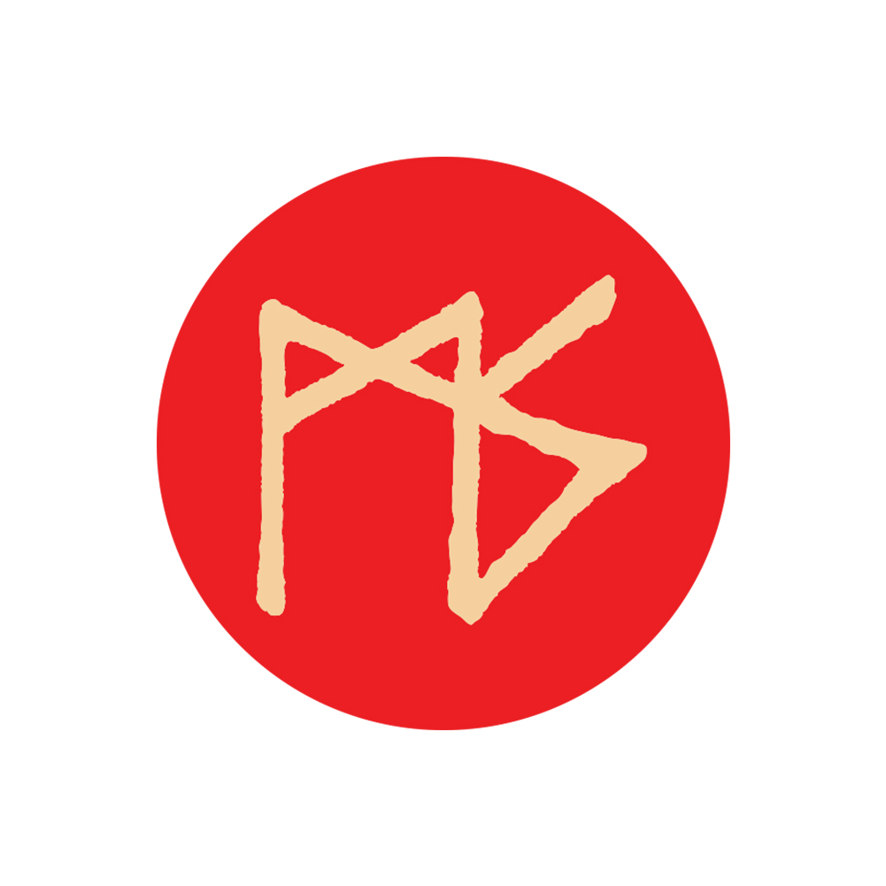 IMAGE | MS Rune Sticker (Red)