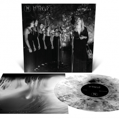 myrkur - Mausoleum LP (Clear/Black Smoke)