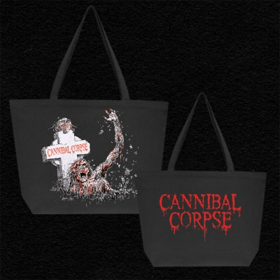 cannibal-corpse - Zombie Grave Bag (Black)