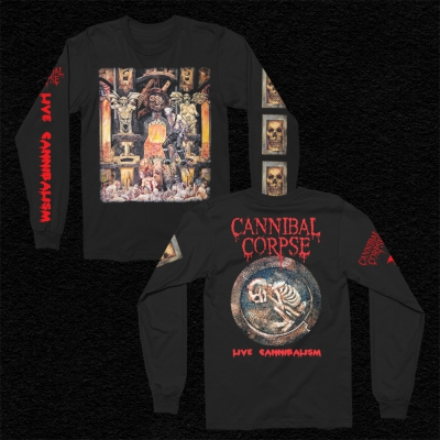 Live Cannibalism Long Sleeve (Black)