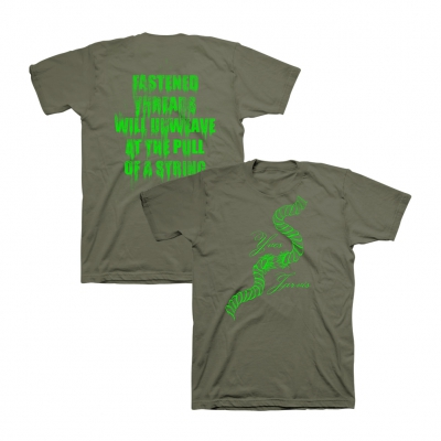 Yves Jarvis - String Tee (Military Green)