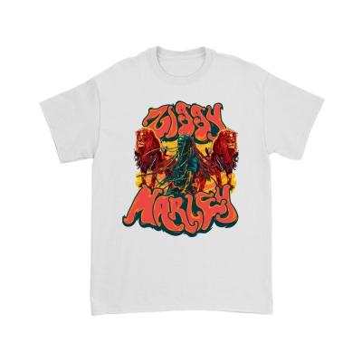 ziggy-marley - Dread Lions T-Shirt (White)