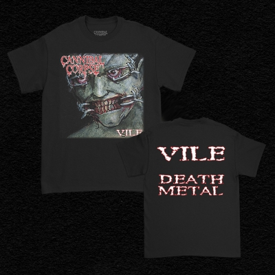 Vile Death Metal Tee (Black)