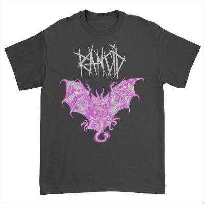 Bat Glow In The Dark T-Shirt (Black)