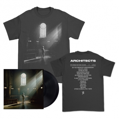 FTTWTE 2xLP (Black) + Cover T-Shirt (Black) Bundle