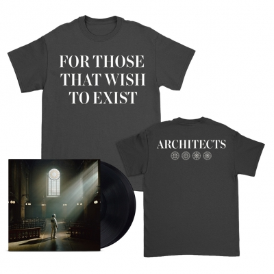 FTTWTE 2xLP (Black) + Text T-Shirt (Black) Bundle