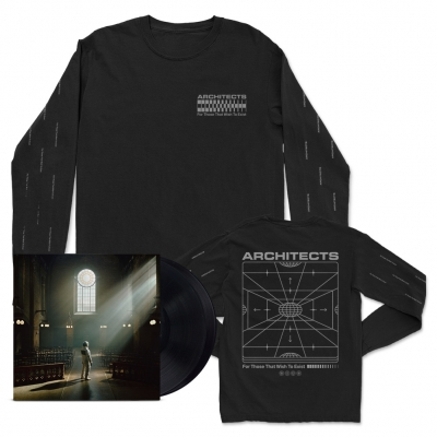 FTTWTE 2xLP (Black) + Grid Long Sleeve (Black) Bundle