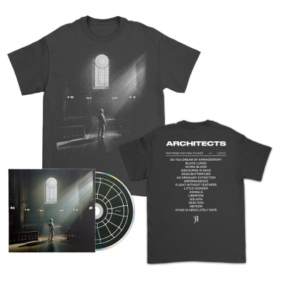 FTTWTE CD + Cover T-Shirt (Black) Bundle