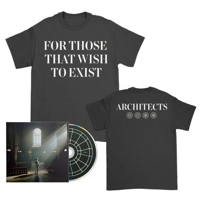 FTTWTE CD + Text T-Shirt (Black) Bundle