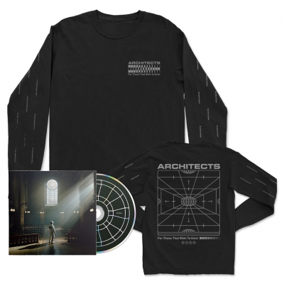 FTTWTE CD + Grid Long Sleeve (Black) Bundle