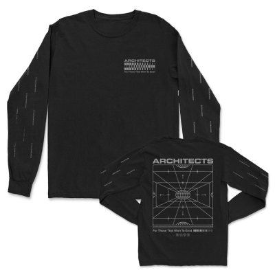 FTTWTE Grid Long Sleeve (Black)
