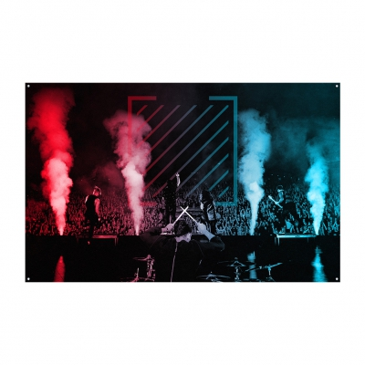 Post Traumatic Live Flag (Black)