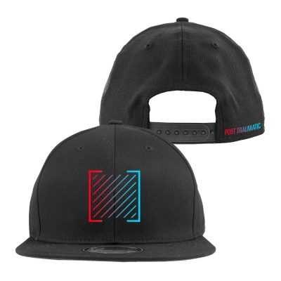 Post Traumatic Logo Snapback Hat (Black)