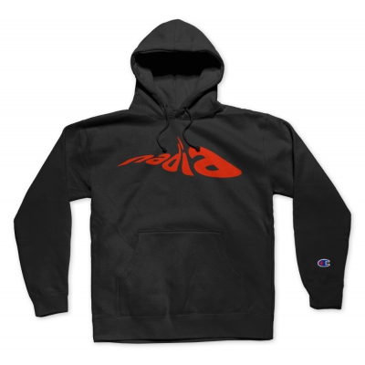 the-drums - Nadia Pullover Champion Hoodie (Black)